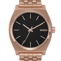 Nixon A045-2598 Time Teller All Rose Gold Black Sunray 37mm 10ATM
