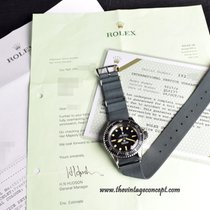 Rolex 5513/5517 Mil-Sub with Service Paper & Hudson Letter