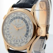 Patek Philippe World Time 5110 18K Rose Gold Mens Watch...