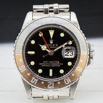 Rolex 1675 Vintage GMT Master Gilt Gloss Faded Bezel (26380)