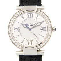 Chopard Imperiale Stainless Steel With Diamonds White Quartz...