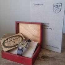 Ulysse Nardin VINTAGE STEEL CHRONOGRAPH WATCH BOX &...