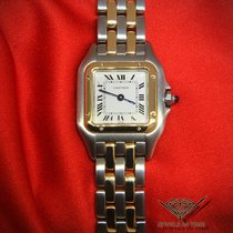 Cartier Panthere 22mm 18k Yellow Gold/Steel Ladies Quartz Watch
