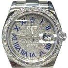 Rolex Datejust II 2 Full Diamonds Dial Diamond bezel 41mm ICE