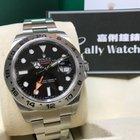 勞力士 (Rolex) Cally - 216570 EXPLORER II Black Dial 40mm 大黑橙[NEW]