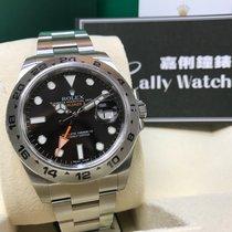 Rolex Cally - 216570 EXPLORER II Black Dial 40mm 大黑橙[NEW]