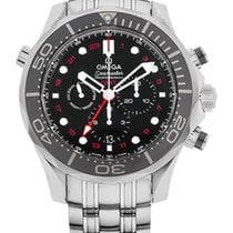 Omega Seamaster Diver 300m Co Axial Gmt Chronograph 44m