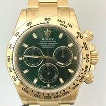勞力士 (Rolex) Daytona Yellow Gold Green Dial 116508 NEW