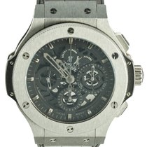 Hublot Big Bang Aerobang Skeleton 310.CM.1110.RX Steel 2010