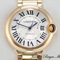 Cartier BALLON BLEU MEDIUM 36 mm GELBGOLD 750 AUTOMATIK W69003Z2