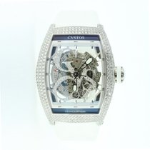 Cvstos Challenge Jetliner Stainless Steel & Diamond