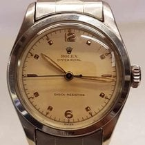 Rolex oyster royal in steel with oyster spring bracelet 1952