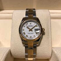 Rolex Datejust 26mm Steel and Gold B&P