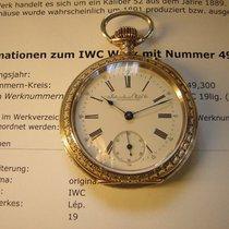 IWC Fast neuwertige Schützennuhr in Silber.  Frauenfeld 1890