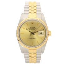 Rolex Datejust 16233 - Gents Watch - Champagne Dial - 1991