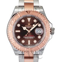ロレックス (Rolex) Yacht-Master Chocolate Steel/Everose Gold 40mm -...