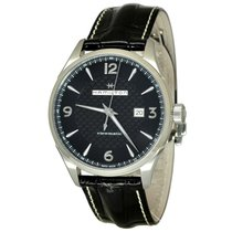 Hamilton JAZZMASTER VIEWMATIC AUTO Black Dial & Leather...