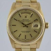 Rolex Day-Date 18k Gold #K2912 FULL SET, 1A Zustand