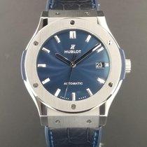 Hublot Classic Fusion Blue Titanium 45mm Ref. 511.NX.7170.LR...