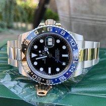 Rolex GMT Master II 116710 BLNR Batman Ceramic Steel Automatic...