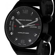 Porsche Design Worldtimer Titan Kautschuk Ref.6750.13.44.1180