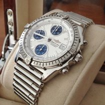 Breitling Chronomat GT Roulleauxband Steel White Dial (39 mm)