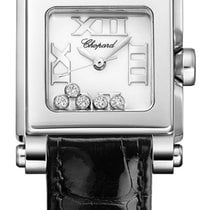 ショパール (Chopard) Happy Sport Square Quartz Small 278516-3001
