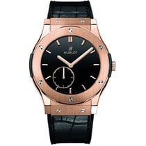 Hublot Classic Fusion King Gold Black Shiny Dial