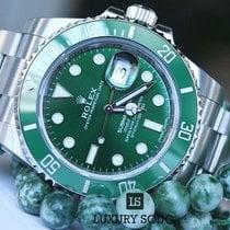 Rolex Submariner Green Dial Steel