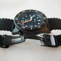 Squale Professional 500 mt, 1521-026N3, black PVD mesh bracelet