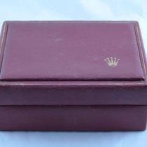 Rolex Holz Box Rar Uhrenbox Watch Box Case Rot