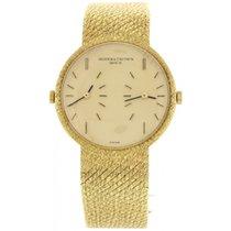 Vacheron Constantin Dual Time 18K Yellow Gold Watch