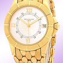 """Patek Philippe Gent's 18K Yellow Gold  """"Neptune""""."""