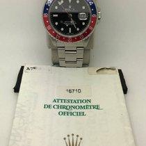 劳力士  (Rolex) 16710 GMT Master II Pepsi Bezel With Guarantee Paper