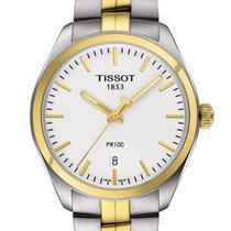 Tissot T1014102203100 Quartz Silver Dial Two-tone Men's Watch