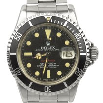 Rolex 1972 Vintage Rolex Red Submariner 1680 Mark VI Yellow...