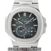 Patek Philippe Nautilus Stainless Steel Moonphase Power Reserve