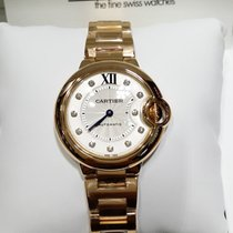 Cartier Ballon Bleu 18K Pink Gold 33mm [NEW]