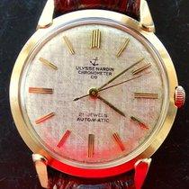 율리세 나르딘 (Ulysse Nardin) Chronometer Gelb Gold 14K 585 Vintage...