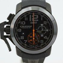 Graham Chronofighter Carbon Orange Gr2ffdx01 Unworn And Complete