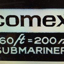 "Rolex 5514 COMEX ""Small Numbers"" 4XX von 1974 B & P"