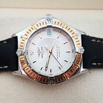 Breitling Perpetual Sirius Lady Gold Steel Silver Dial 31 mm