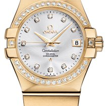 Omega Constellation Co-Axial Automatic 35mm 123.55.35.20.52.002