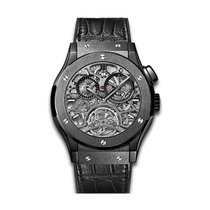 Hublot Classic Fusion Skeleton All Black 45mm Automatic...