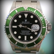 "Rolex Submarine  16610 LV  ""FAT FOUR"" NEVER POLISH ..."