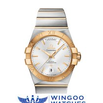 Omega - Constellation Co-Axial Day-Date 38MM Ref. 123.20.38.22...