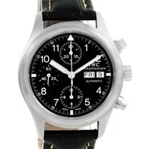 IWC Pilot Flieger Chronograph Day Date Watch Iw370603 Box Papers