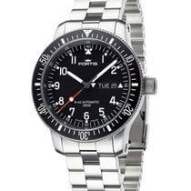 Fortis B-42 Official Cosmonaut Day/date Wr 200m Steel Bracelet...