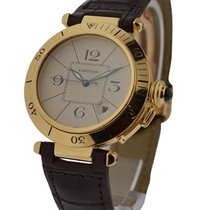Cartier Pasha38yg Pasha 38mm Yellow Gold - Yellow Gold on...