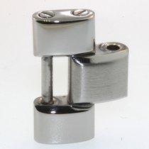 Breitling 878a Glied Link Stahl Poliert Und Mattiert I139